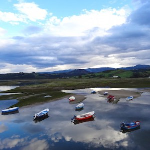 Fishing boats in Cantabria