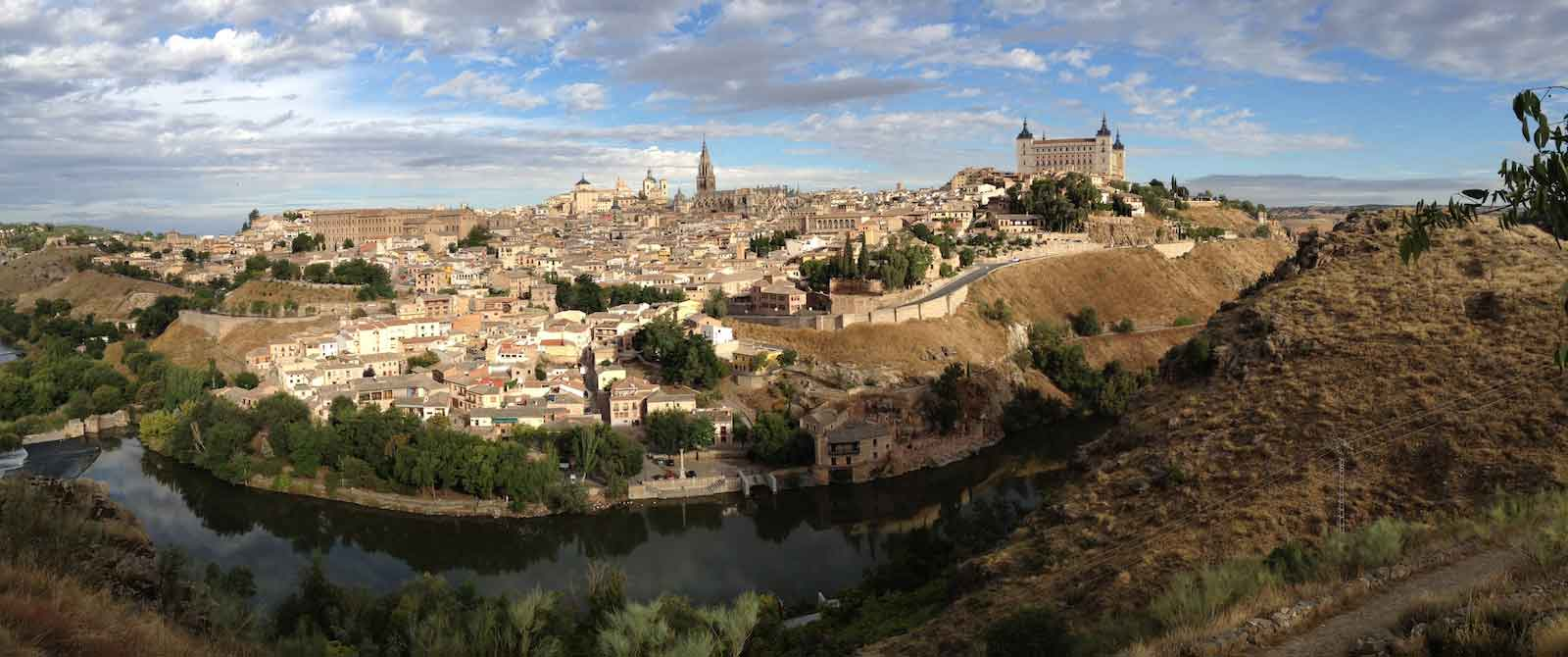 cycling holidays in spain toledo