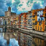 CIty of Girona on Trans-pyrenees guided bike tour