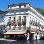 Hotel in Bagneres on trans-pyrenees guide bike tour