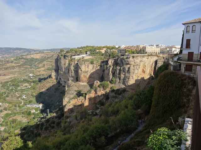 Ronda cliffs white villages of andalusia bike tour