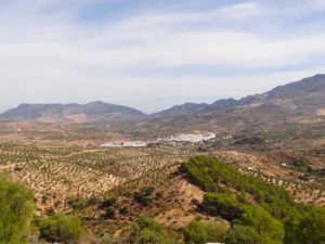 white villages of andalusia bike tour scenery